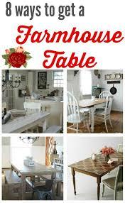 Buy Farmhouse Table Farmhouse Kitchen Tables To Diy With Amazing Farmhouse Style