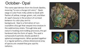 opal october uncut minerals transformed to create beautiful jewelry and