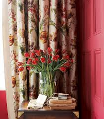Curtains With Red Interior Design How To Make Curtains How To Make Curtains Qumania