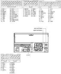 pioneer avh 290bt wiring diagram pioneer wiring diagrams collection