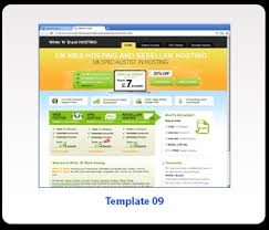 free exclusive reseller web hosting templates