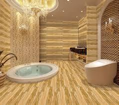 Ceramic Wood Tile Flooring Wholesale Wood Look Tile Floor In Bathroom China