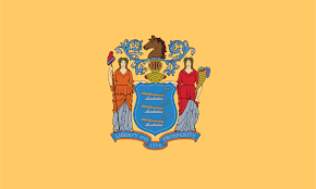 State Flag Of Massachusetts Flag And Coat Of Arms Of New Jersey Wikipedia