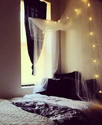 Diy Canopy Bed With Lights Canopy With Lights Apartment Ideas Pinterest Diy Canopy