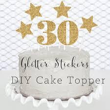30 cake topper 30th birthday cake topper 30 birthday decorations thirty