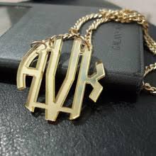monogram necklace cheap online get cheap acrylic monogram necklace aliexpress