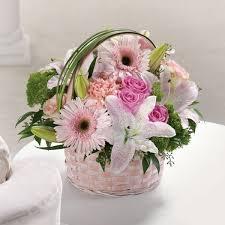 basket of flowers basket of in fairfax va mystical flowers