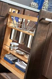kitchen pull out cabinet amazon com rev a shelf 448ut bcsc 5c 5 in pull out wood base