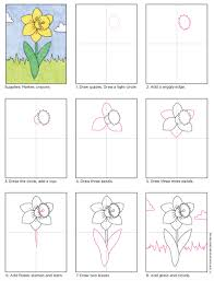 daffodil art projects for kids