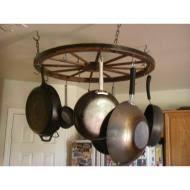Diy Wagon Wheel Chandelier Wagon Wheel Pot Hanger Home Sweet Home Pinterest Pot Hanger