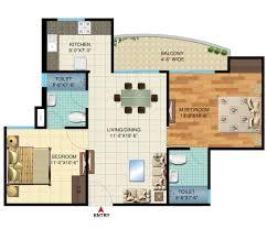 2bhk floor plan the cadence bhiwadi the cadence floor plan bhiwadi builder