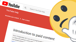youtube is stopping paid content 2017 true miller