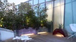 home garden design youtube roof terrace with led lighting by mylandscapes contemporary garden