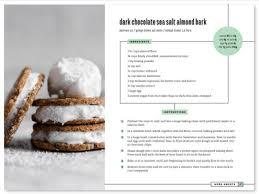 ebook layout inspiration ebook recipe layout by sydney newsom dribbble