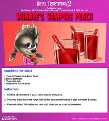 hotel transylvania halloween party food u2013 winnie u0027s vampire punch