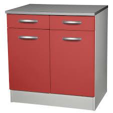 meuble cuisine bas 2 portes 2 tiroirs petit meuble bas prix meuble bas de cuisine l80 avec tiroir