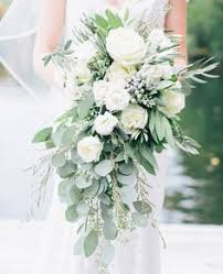 White Rose Bouquet Elegant Antique Art Bar Wedding Flower Power Floral Designs And