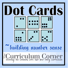 dot cards ten frames number sense and numbers