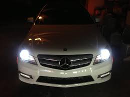 2013 mercedes c class c250 coupe 2013 c250 hid install mbworld org forums
