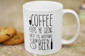 funny coffee mug gift for husband beer lover gift the love mugs