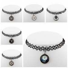 tattoo choker necklace aliexpress images 2015 fashion handmade vintage tattoo choker necklace pop exo jpg