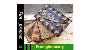 4 unique endgrain cutting boards youtube