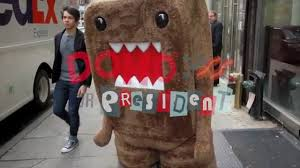 domo halloween costume domo 4 president translator youtube