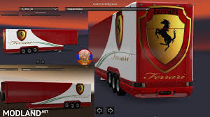 skin pack new year 2017 for iveco hiway and volvo 2012 2013 iveco hiway combo skin packs ferrari hw mod for ets 2