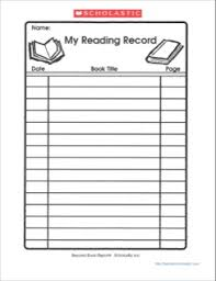 my reading record graphic organizers pinterest reading