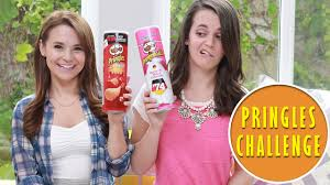 Challenge In Mo Rosanna Pansino Pringles Challenge Ft Molly Enjoy Ro And