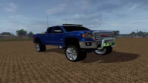 lifted gmc gmc sierra 1500 lifted farming simulator modification