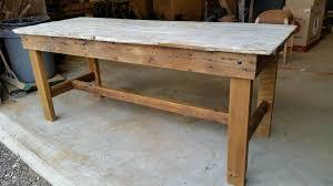 barn door dining table rustic white wash barn door dining table m jones creations