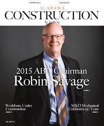Dr Mack Barnes Birmingham Al Alabama Construction News Magazine Q3 2015 By Abc Of Alabama Issuu