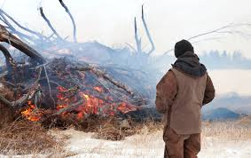 Alberta Wildfire Job Application by Safe Winter Burning Practices Strongly Advised