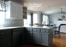 Charcoal Grey Kitchen Cabinets Painted Grey Kitchen Cabinets U2013 Colorviewfinder Co