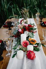 tropical wedding theme tropical boho chic wedding shoot with an deco feel weddingomania
