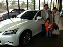 first lexus congratulations to atsumasa and madoka on their first lexus