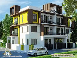 Residential Building Elevation Modern Apartment Building Elevations And Modern House Elevation In