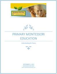 printable montessori curriculum free ebook primary montessori education understanding the theory