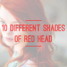 10 different shades of red heads holleewoodhair