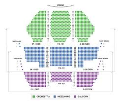 new amsterdam theatre broadway seating charts