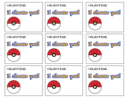 free printable pokémon valentine cards paper trail design