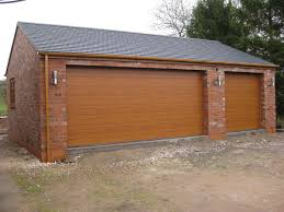 Building A Garage Workshop by A Double Garage With Combined Workshop Cheddleton Staffordshire