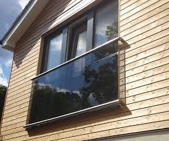 glass juliette balcony morris fabrications ltd architectural