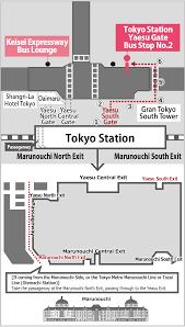 Shinagawa Station Map Transportation Access