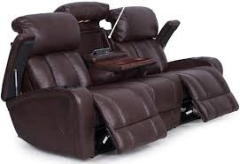 Power Reclining Sofa Synergy Home Furnishings 417 Casual Power Reclining Sofa With
