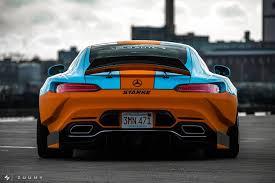 mercedes amg orange illegitimate gulf livery mercedes amg gt s widebody sparks