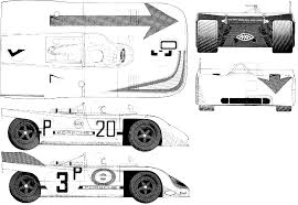 porsche 908 car blueprints porsche 908 kurzheck le mans blueprints vector