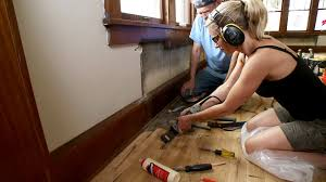 Quick Fix For Squeaky Hardwood Floors by Rx For Patching Wood Floors Diy