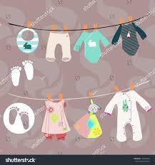 new baby boy set baby stock vector 119034814 shutterstock